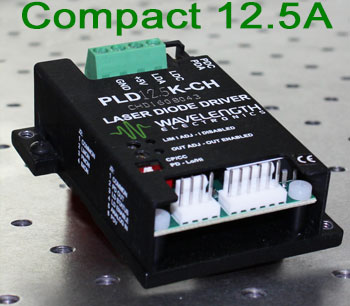 Compact Linear Laser Diode Driver to 12.5 A