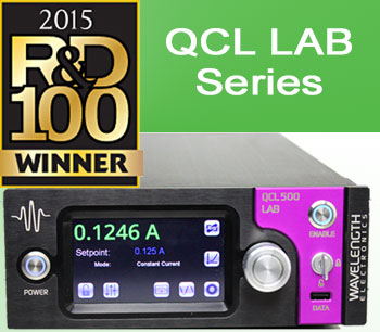 Wavelength Electronics QCL LAB Series Instrument  Voted 2015 R&D 100 Award Winner