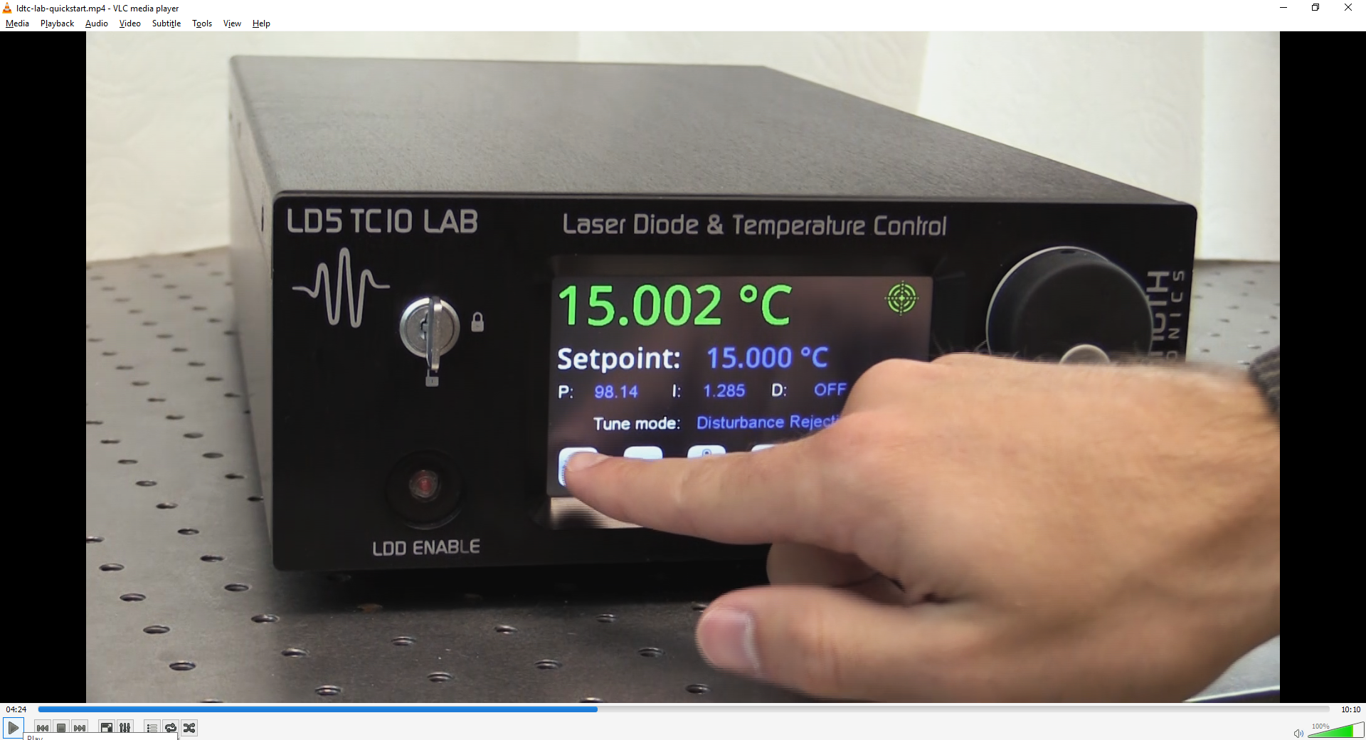 VIDEO: LDTC LAB Series Instrument Quick Start