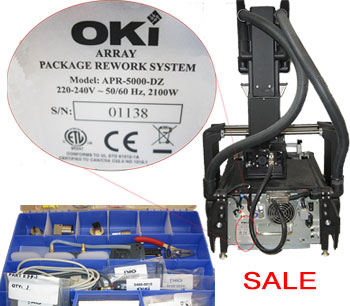 OKI Advanced Package Rework (APR) System for Sale from Wavelength Electronics