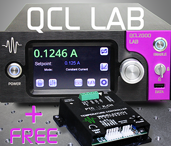 LIMITED TIME OFFER: Buy a QCL LAB Instrument & get a FREE PTC-CH