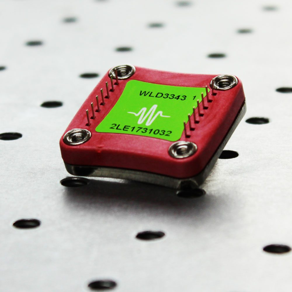 WLD3343 2.2 A Lower Noise Laser Diode Driver