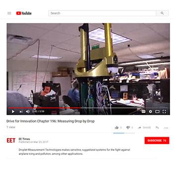 VIDEO: Droplet Measurement Technologies