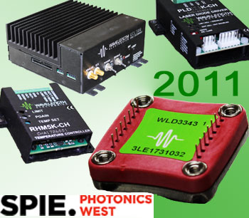 New Products Introduced at Photonics West 2011