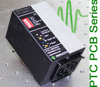 New — PTC PCB Series Precision Temperature Ccontrollers