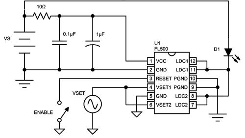 fl500 500 ma laser diode driver  u2013 wavelength electronics