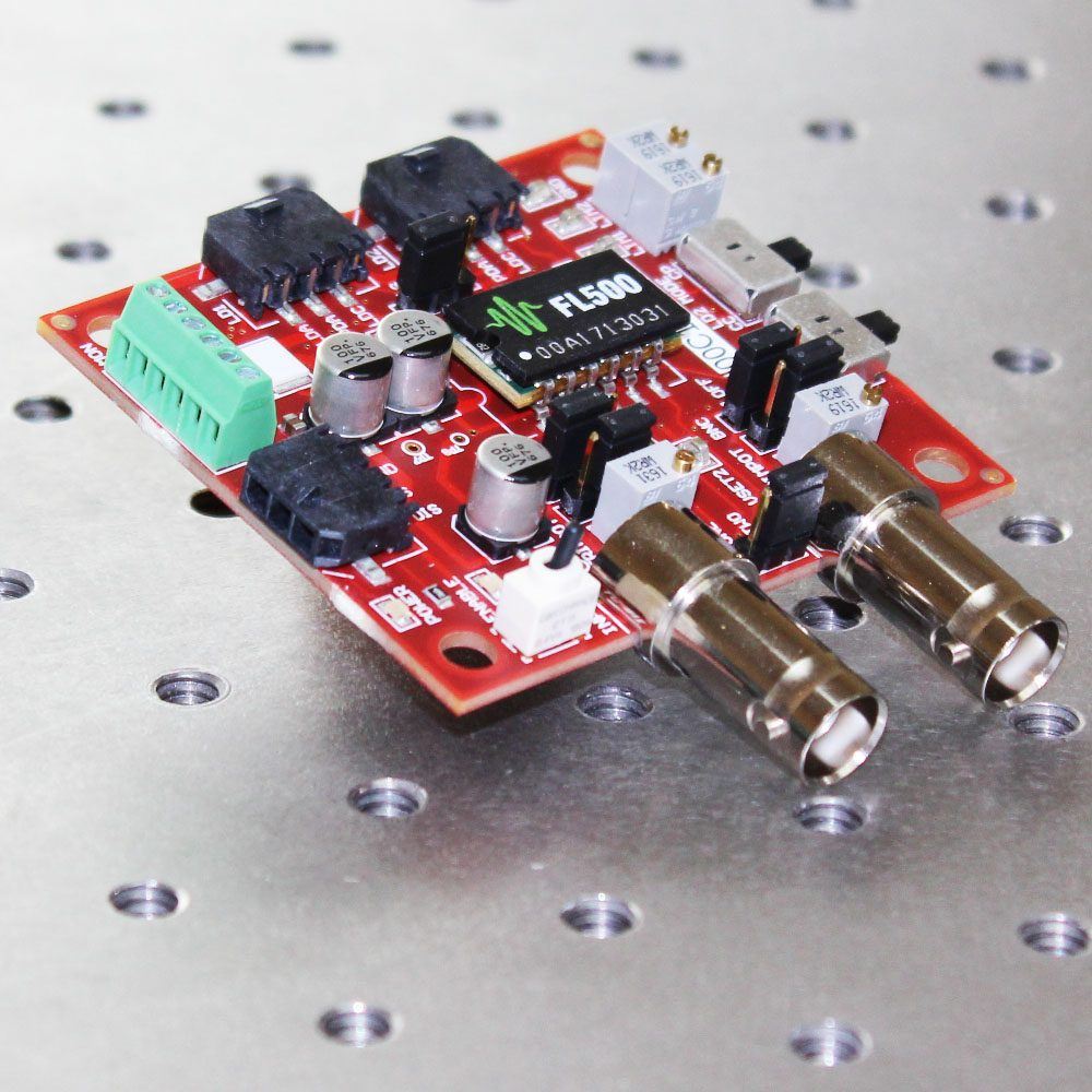 FL591FL Evaluation PCB & FL500 Laser Diode Driver