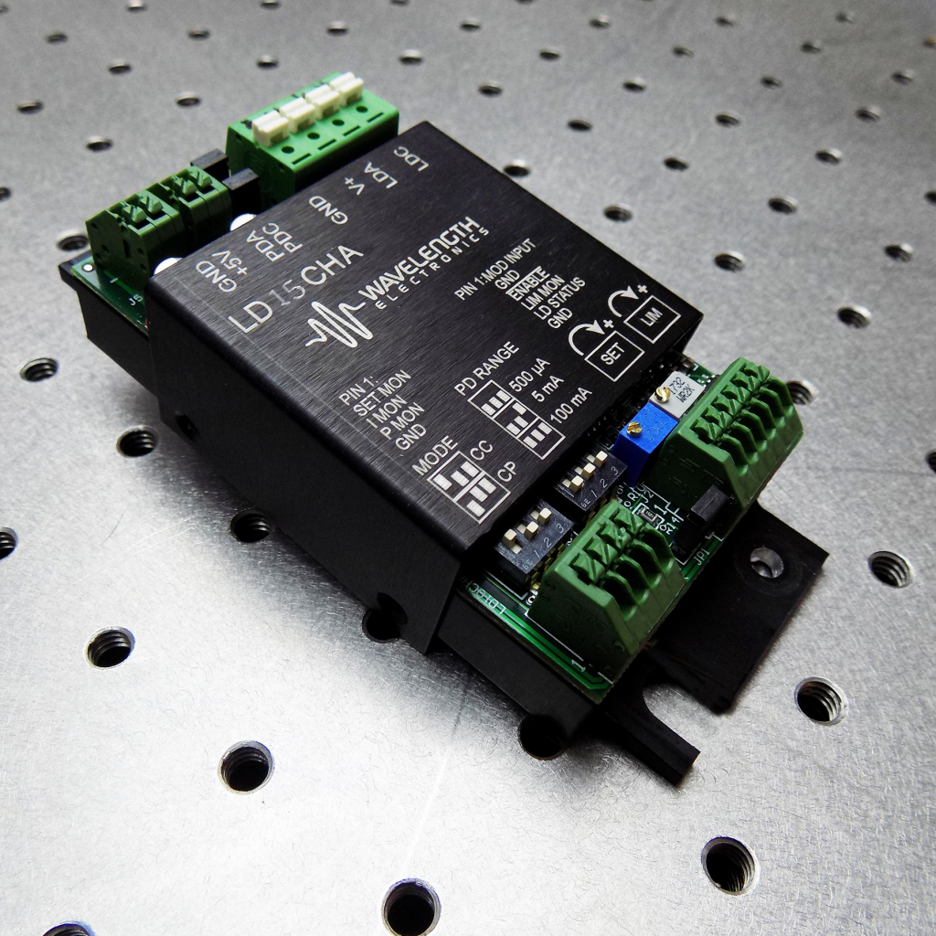 Power Industrial Laser Diodes For Material Processing Diode Driver Circuit The Low Noise Ld15cha Newest Addition To Wavelength Line Offers Exceptional Modulation Bandwidth And Ample