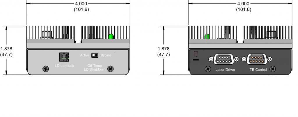 LDMOUNT 5A Dimensions
