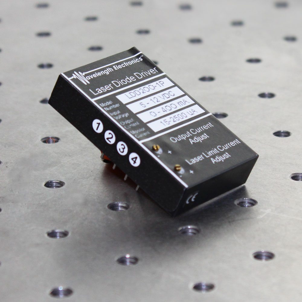 LDD200P Series 200 mA Laser Diode Drivers