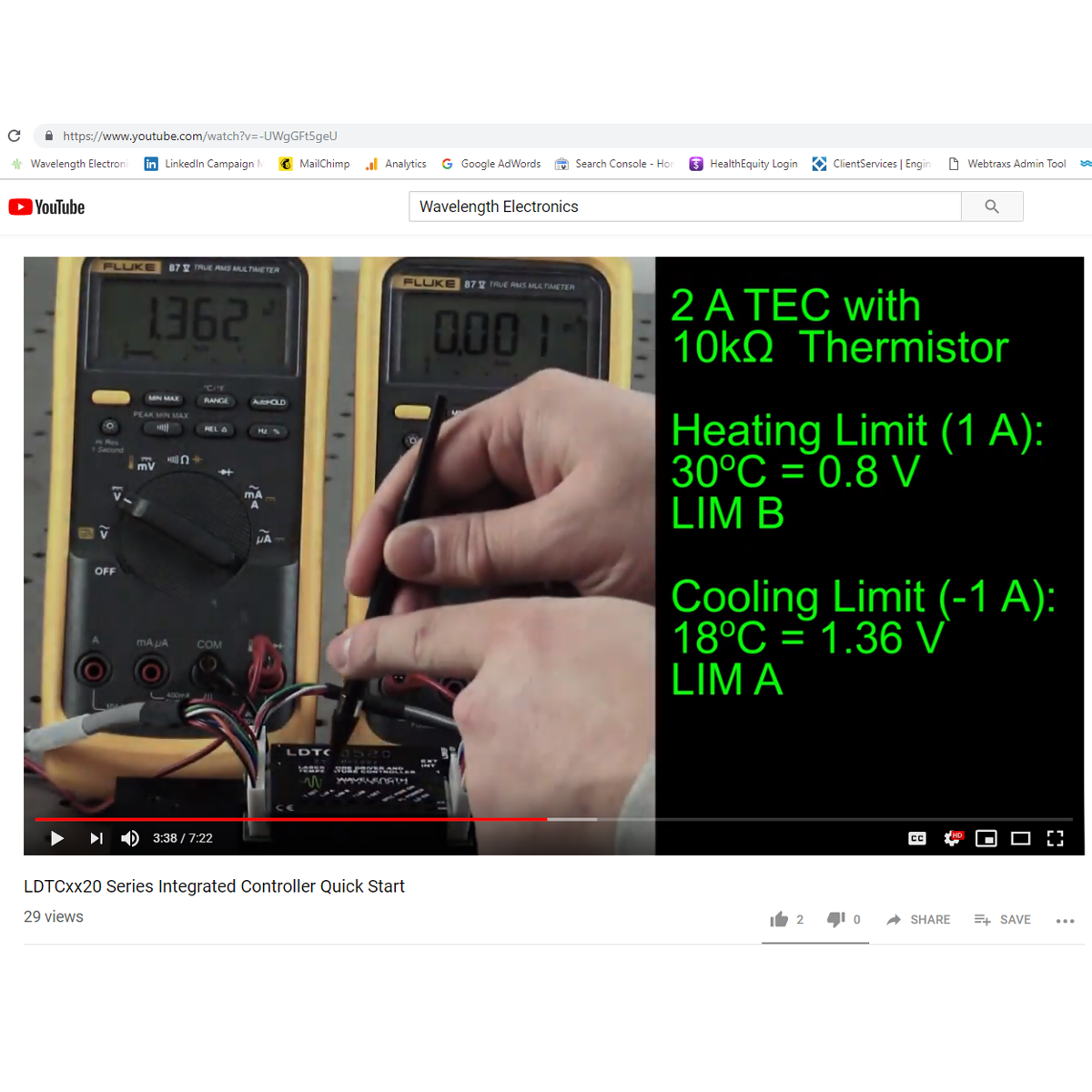 VIDEO: LDTCxx20 Series Integrated Laser Diode Controller Quick Start