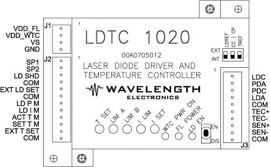 Top View of LDTC1020 or LDTC0520