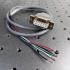 WCB408 Laser Diode Type A/B Cable Assembly for the LDTC LAB Series
