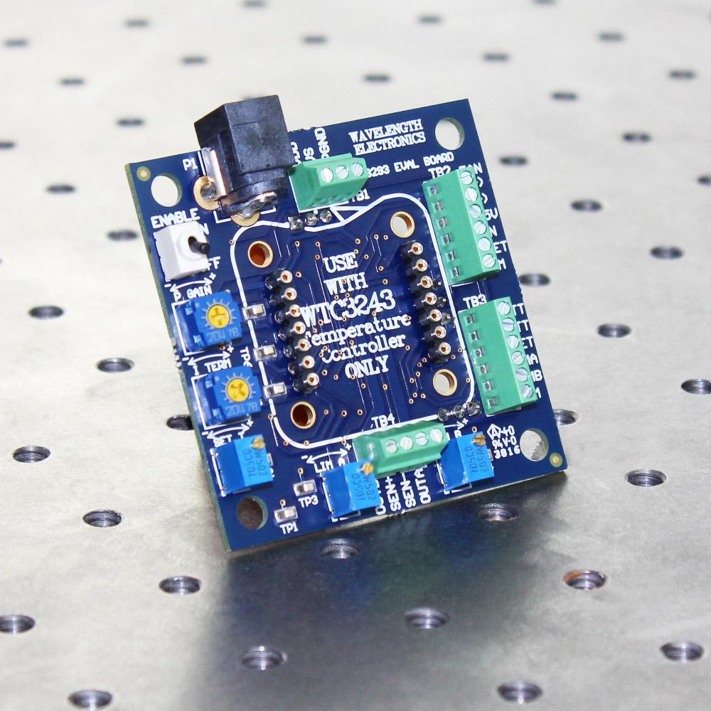 Evaluation PCB for WTC3243 Temperature Controller